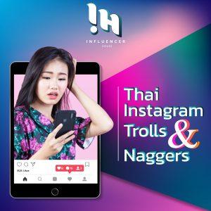 Instagram trolls in Thailand